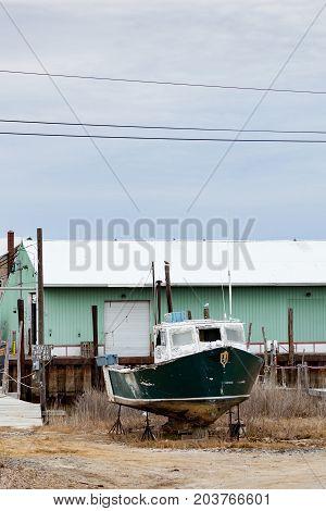 Old Boat In Belford
