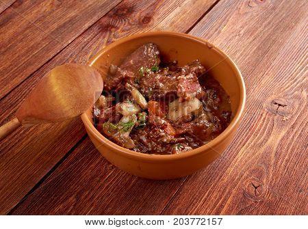 Beef Bourguigno