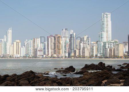 Balneario Camboriu, Santa Catarina, Brazil - Beach and Sun