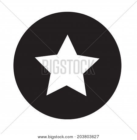 star icon on white background. flat design. star sign. favorite or best sign. web ranking symbol.