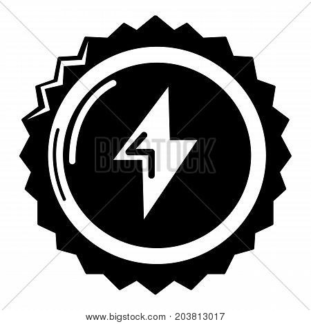 Energy drink bottle cap icon. Simple illustration of energy drink cap vector icon for web design