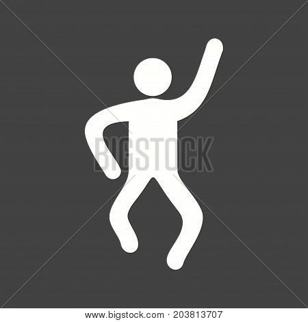 Crazy, people, young icon vector image. Can also be used for Personality Traits. Suitable for mobile apps, web apps and print media.