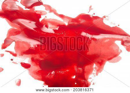 Blood On White