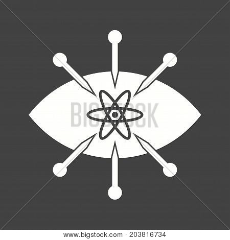 Observation, data, analysis icon vector image. Can also be used for Data Analytics. Suitable for web apps, mobile apps and print media.