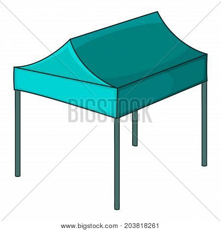 Marquee tent icon. Cartoon illustration of marquee tent vector icon for web