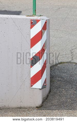 Traffic Sign On A Corner