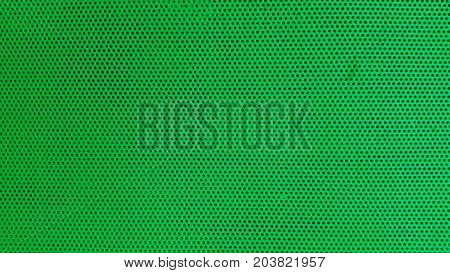 Green wrapping texture with dots. Green wrapping texture with dots