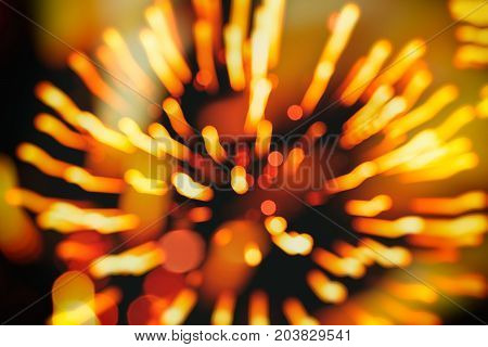 Beautiful natural gold fireworks background, holiday backdrop, aesthetic and entertainment purposes, art. Suitable for a backdrop for all occasions, modern style
