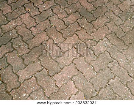 Brick Worm Textures Background