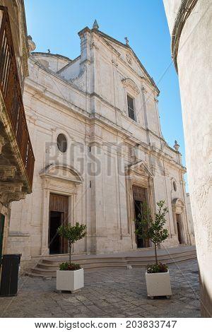 Mother Church of Assumption. Ceglie Messapica. Puglia. Italy.