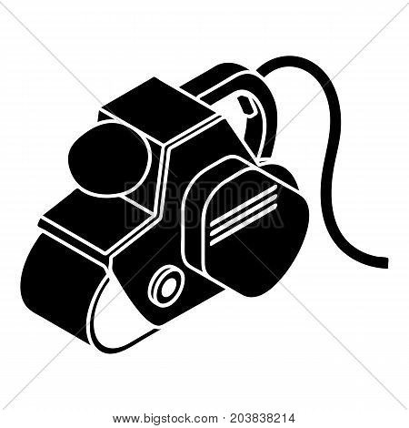 Power tool icon. Simple illustration of power tool vector icon for web design isolated on white background