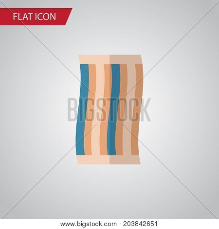 Wiper Vector Element Can Be Used For Wiper, Towel, Cloth Design Concept.  Isolated Towel Flat Icon.