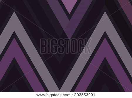 Triangular geometric zigzag chevron background. Banner flyer card Vector illustration