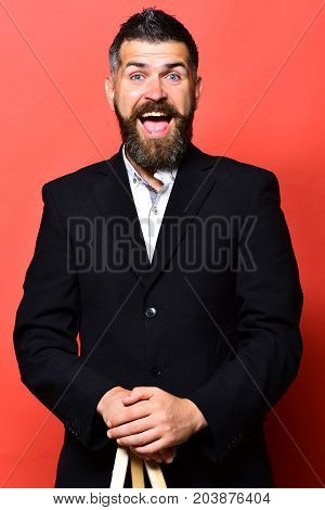 Photographer With Stylish Hairdo And Cheerful And Open Face