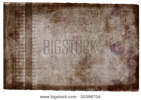 burnt brown hand-made paper background with pattern