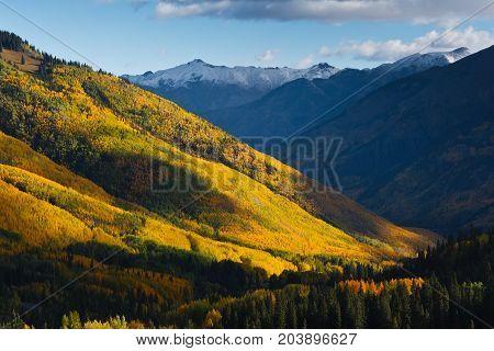 The Million Dollar Highway - Colorado Rocky Mountain Scenic Beauty