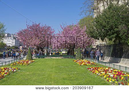 April In Paris.