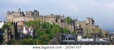 Edinburgh skyline as seen from Calton Hill