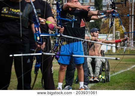 Invictus Games - Training Of The National Ukrainian Team