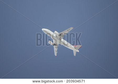Airplane Takes Off
