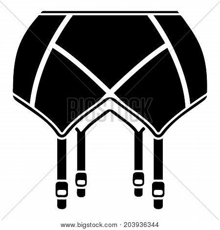 Underwear icon. Simple illustration of underwear vector icon for web