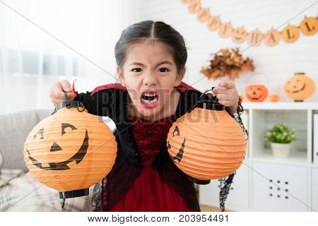 Kids Showing Horror Expression Face