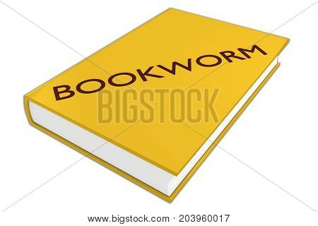 Bookworm Literary Concept