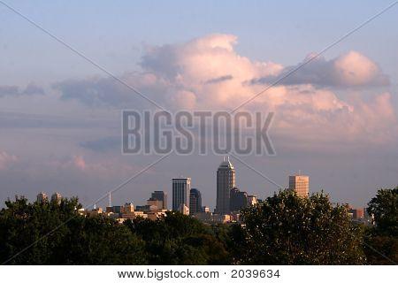 Indianapolis Skyline 907