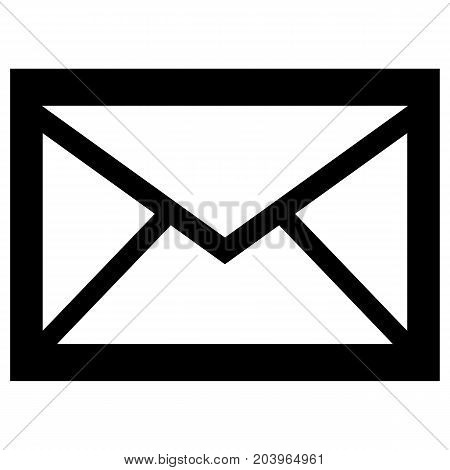 Flat mail icon Envelope Letter Vector Symbol Message