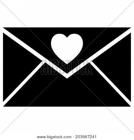 Lover Letter in Envelope Icon Icon Love Letter Bonding