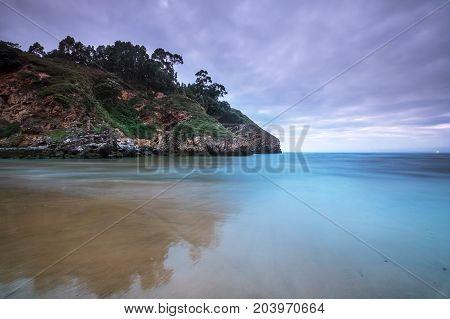 North Spain Biskay Bay coast part of Saint Jacob Way