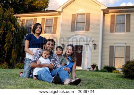 Familia Biracial