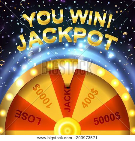 Wheel of Fortune. Jackpot. Win. Luck. Online casino. Entertainment.