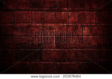 Abstract red brick wall. Red brick background. Red background. Red wall. Grunge. Grunge background. Red grunge.