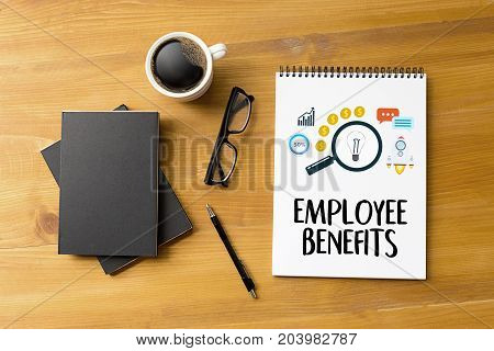 EMPLOYEE BENEFITS TECHNOLOGY COMMUNICATION definition highlighted top