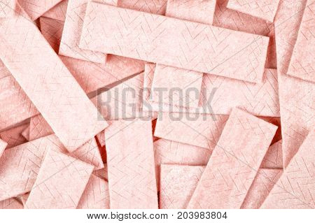 Abstract Background From Chewing Gum Plates