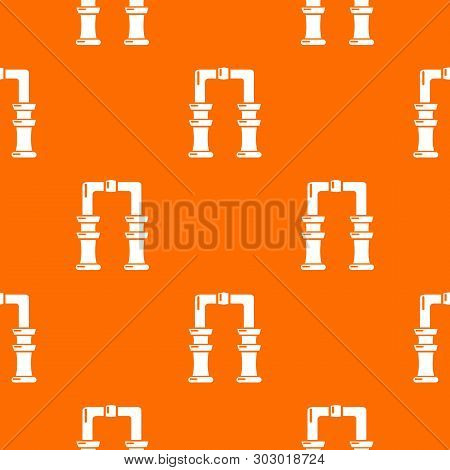 Archway Pattern Vector Orange For Any Web Design Best