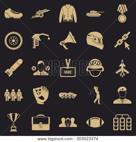 Conquest Icons Set. Simple Set Of 25 Conquest Vector Icons For Web For Any Design