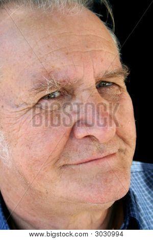 Satisfied Senior Man