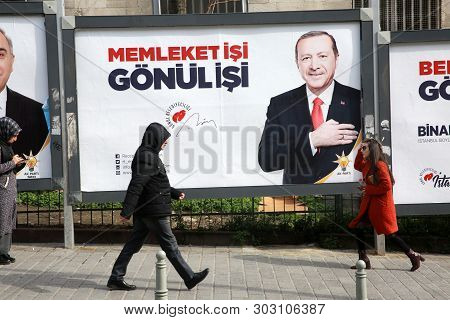 Electoral Campaign In Istanbul