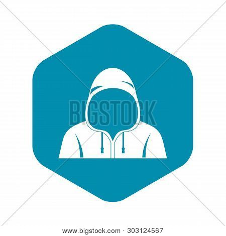 Hood Icon. Simple Illustration Of Hood Vector Icon For Web