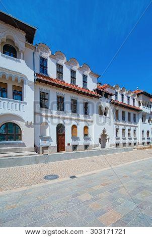 Street In Oradea (capital City Of Bihor County And Crisana Region), Romania