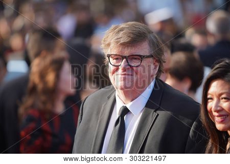 Michael Moore attends the closing ceremony screening of