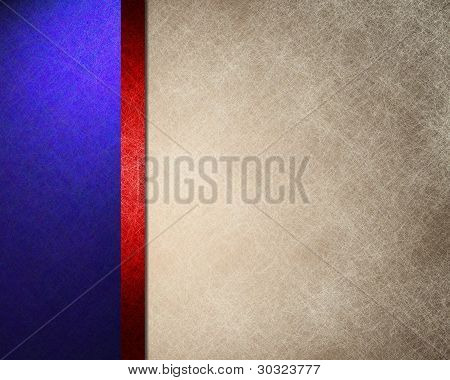 Red White Blue Background