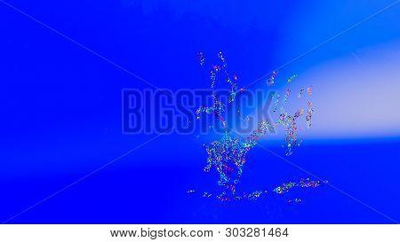 3D Illustration Of  Abstract Splash
