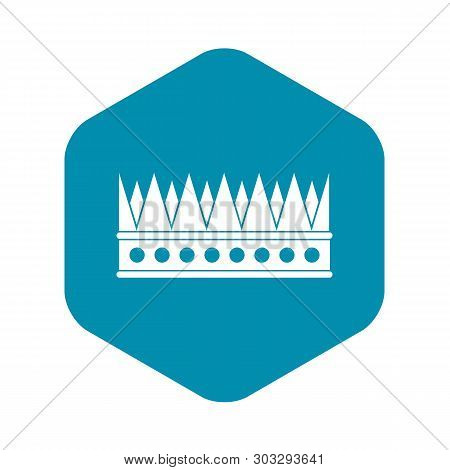 Regal Crown Icon. Simple Illustration Of Regal Crown Vector Icon For Web