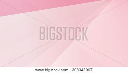 Pink Pattern In Different Triangle Shades Background