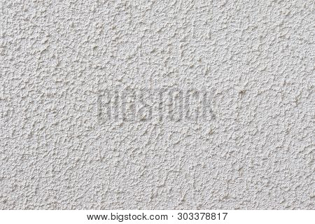 Light Textured Plaster On The Wall. The Wall Is Rough Without Seams Modern Decor.