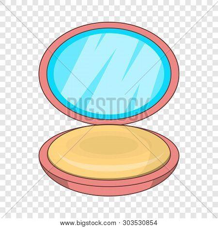 Puff-box Icon. Cartoon Illustration Of Puff-box Vector Icon For Web Design