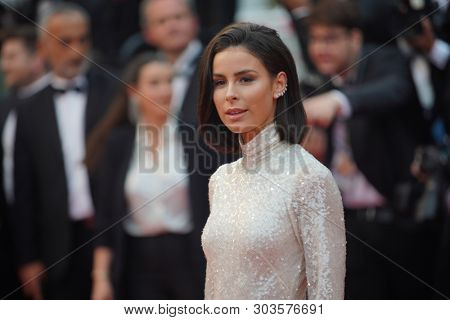 CANNES, FRANCE. May 18, 2019: Lena Meyer-Landrut at the gala premiere for